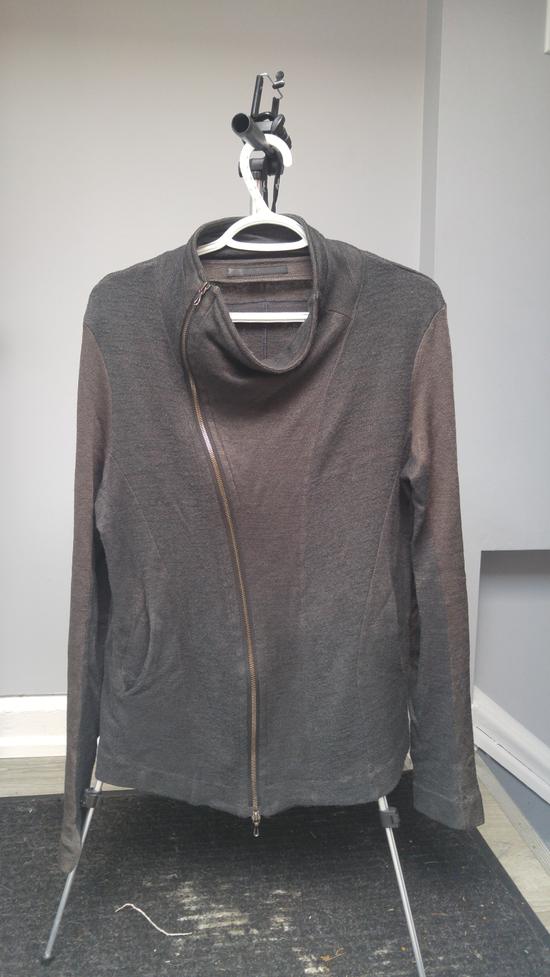 Julius FW12 Cupra/Wool Draped Jacket (sz 2, fits 48) Size US M / EU 48-50 / 2 - 1