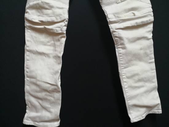 Balmain Balmain Coated biker Jeans Size US 33 - 3