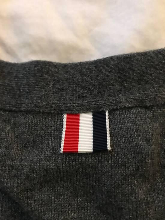 Thom Browne Classic grey cashmere cardigan Size US XXL / EU 58 / 5 - 6