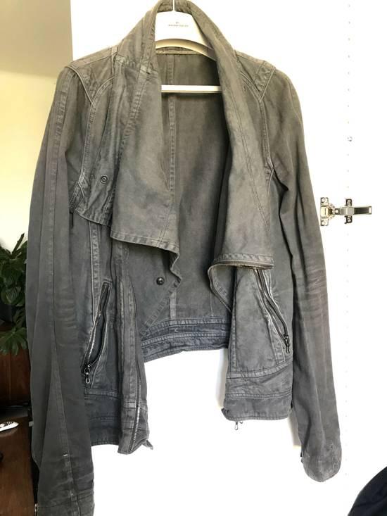 Julius Waxed distressed denim jacket Size US S / EU 44-46 / 1 - 4
