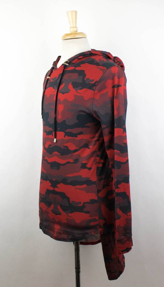 Balmain Red Camouflage Cotton Hoodie Sweatshirt Shirt Size Small Size US S / EU 44-46 / 1 - 1