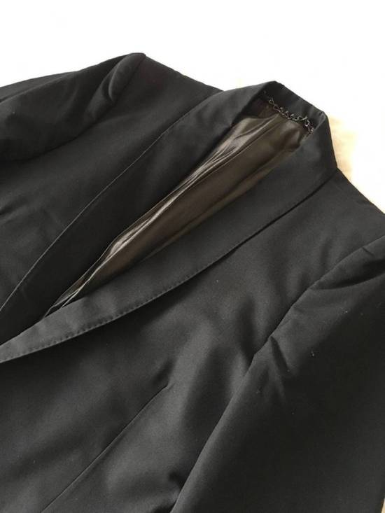 Julius Rare Japan made black fine wool tailored jacket in excellent condition Size 38R - 2