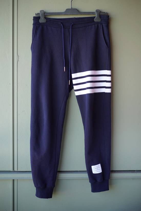 Thom Browne 4 Bar Navy Sweatpant Size US 30 / EU 46