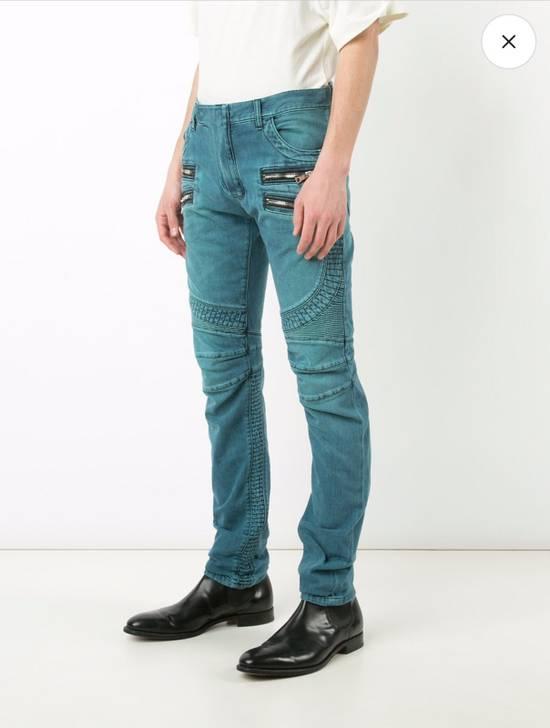 Balmain Biker Jeans Size US 31