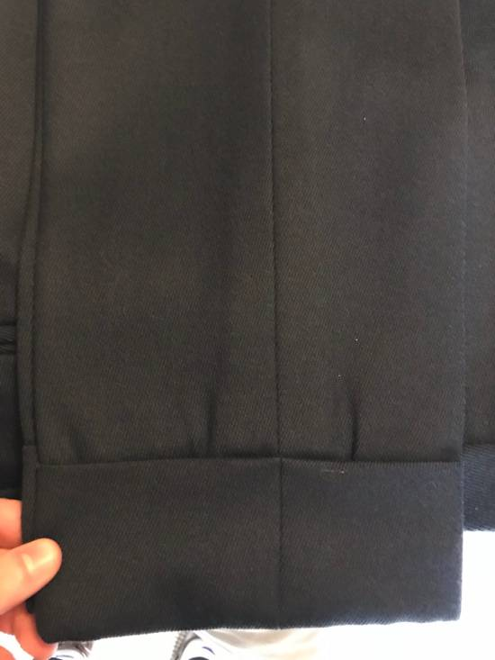 Thom Browne Black Fleece Navy Wool Twill Trousers BB1 Size US 30 / EU 46 - 5