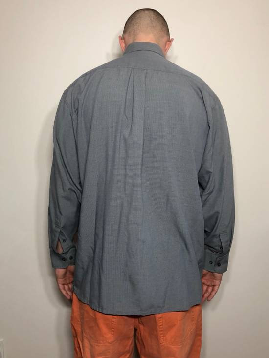 Balmain Grey Pattern Button Down Size US L / EU 52-54 / 3 - 2