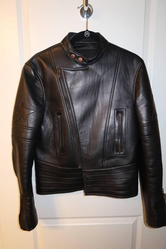 Givenchy Lamb leather moto star print jacket Size US M / EU 48-50 / 2 - 1