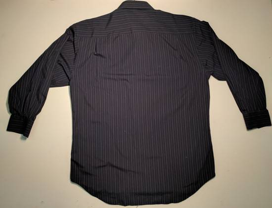 Balmain dark navy blue pin-stripe button up Size US L / EU 52-54 / 3 - 1