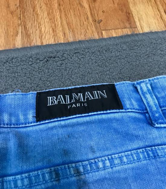Balmain Balmain Blue Denim Size US 30 / EU 46 - 4
