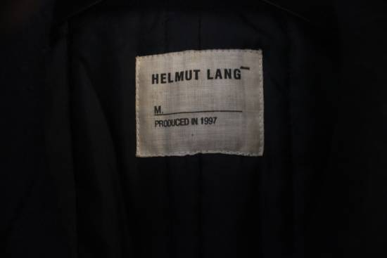 Helmut  Lang AW97 OG Archival Resin Stripe Military Coat Size US M / EU 48-50 / 2 - 3