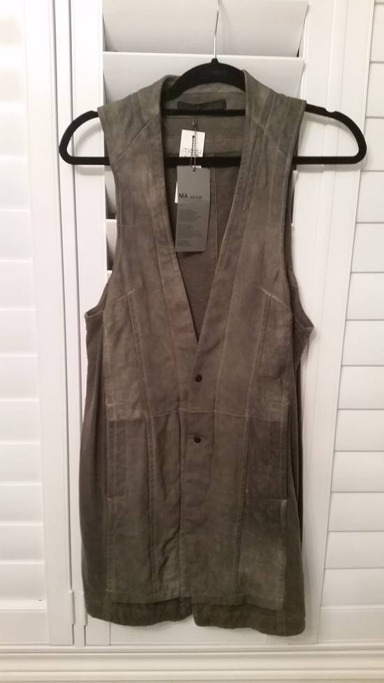 Julius Julius MA leather vest extremely rare Size US M / EU 48-50 / 2