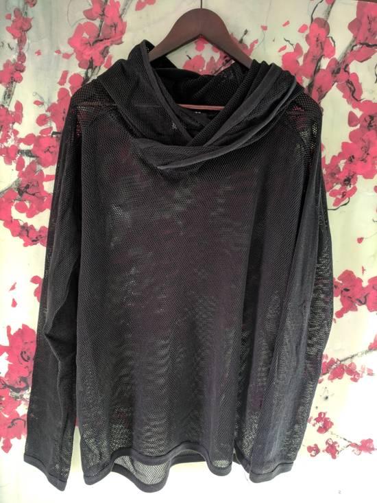 Julius Spring/Summer 2008 Mesh Russel hoodie Size US M / EU 48-50 / 2