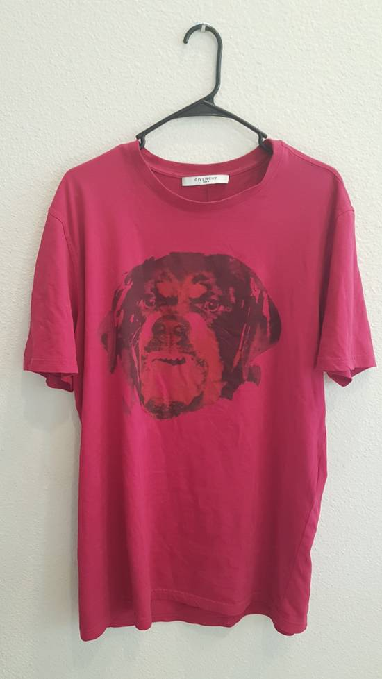 Givenchy Givenchy Pink Rottweiler T-Shirt Size US M / EU 48-50 / 2