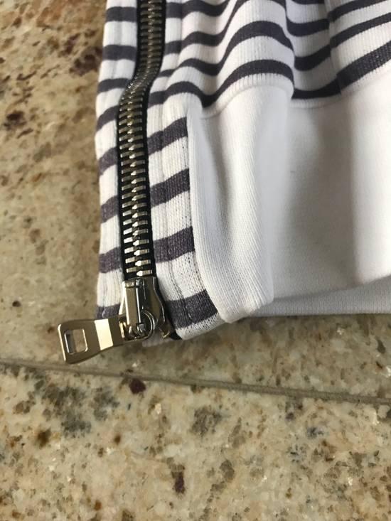 Balmain Stripe White & Grey Hoodie Size US S / EU 44-46 / 1 - 12