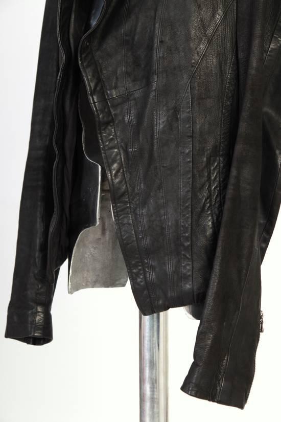 Julius Julius Dove Tail Leather Jacket EU46 Small Size 2 S/S 2012 Size US S / EU 44-46 / 1 - 5
