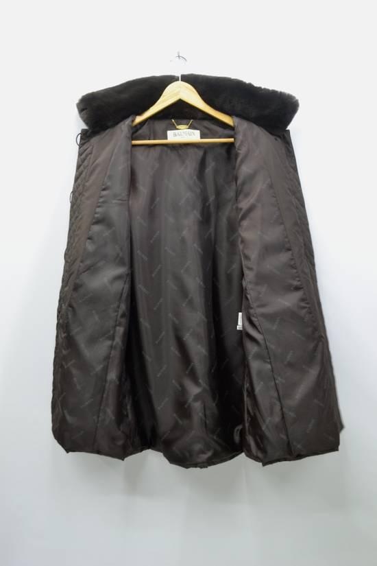 Balmain BALMAIN Jacket Pierre Balmain Jacket Vintage Balmain Paris Fur Lining Collar Button Jacket Size M-L Size US L / EU 52-54 / 3 - 4