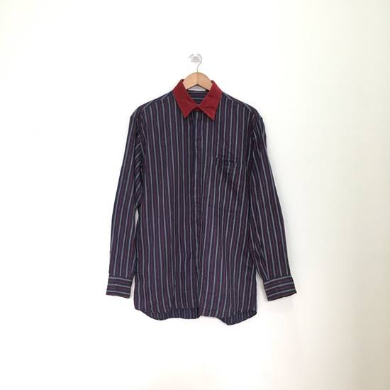Givenchy Gentleman Givenchy Indigo Red Stripes Casual Shirt Made in Italy Size US M / EU 48-50 / 2