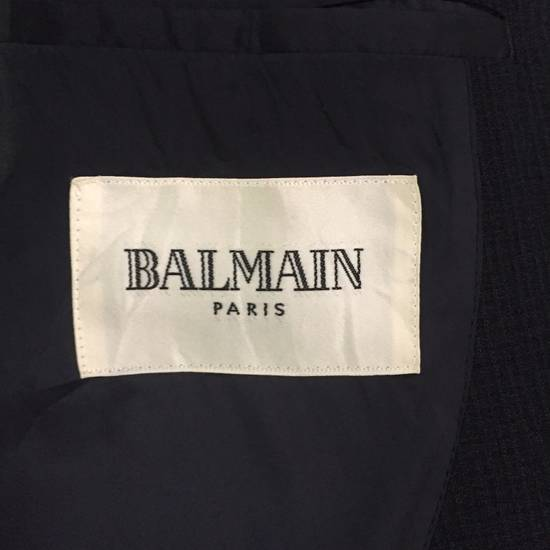 Balmain LAST CALL BEFORE DELETE!!! VINTAGE MADE IN JAPAN LIGHT BLAZER WITH GUNMETAL COLOUR BUTTON BY BALMAIN PARIS Size 42R - 4