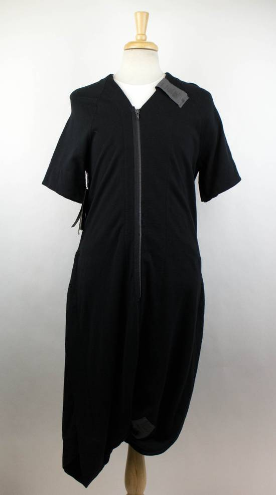 Julius Men's Black Cotton Blend Drop Crotch Jumpsuit Size 0/2XS Size US 30 / EU 46