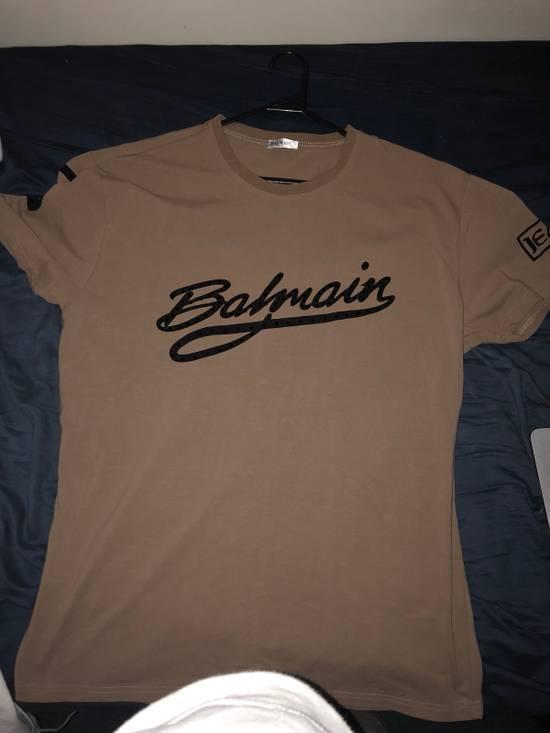 Balmain Tan Balmain Shirt Brand New Size XL Size US XL / EU 56 / 4