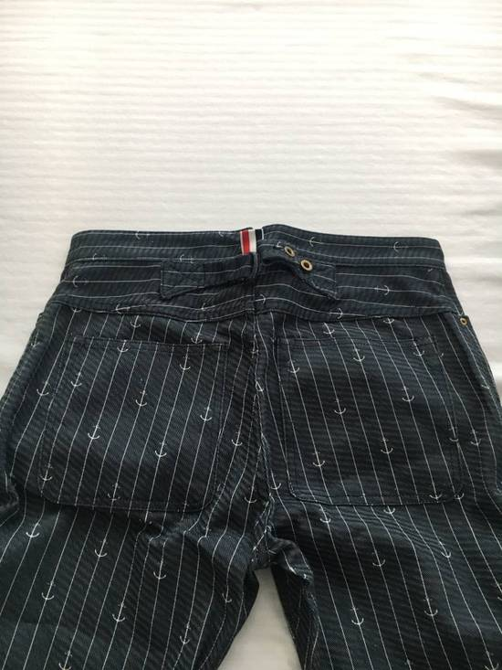 Thom Browne Anchor Striped Pants Size US 30 / EU 46