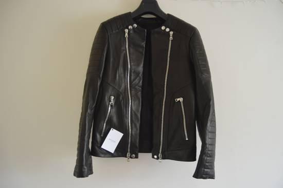 Balmain Classic Leather Biker Size US M / EU 48-50 / 2
