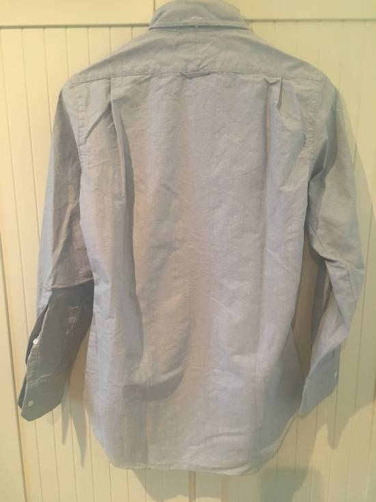Thom Browne Light Blue Oxford Shirt w/Signature Grosgrain Placket Size US S / EU 44-46 / 1 - 6