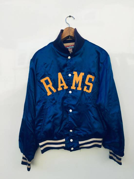 the latest 0d386 45aa4 Vtg Rams Satin College Jackets Sweaters NFL Football Los Angeles Empire  Sporting Goods