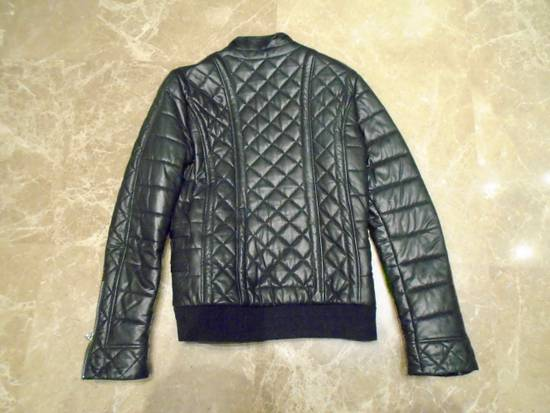 Balmain QUILTED LEATHER BIKER JACKET Size US M / EU 48-50 / 2 - 2