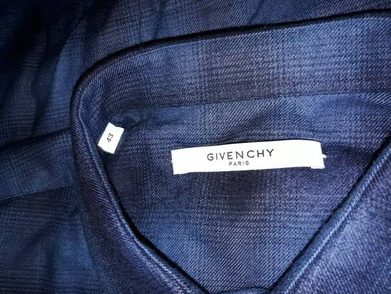 Givenchy Embroidered flannel shirt Size US XL / EU 56 / 4 - 2