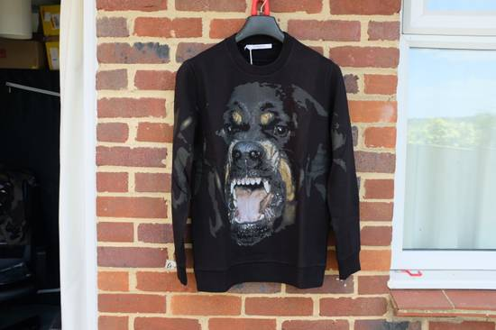 Givenchy Black Rottweiler Sweater Size US L / EU 52-54 / 3