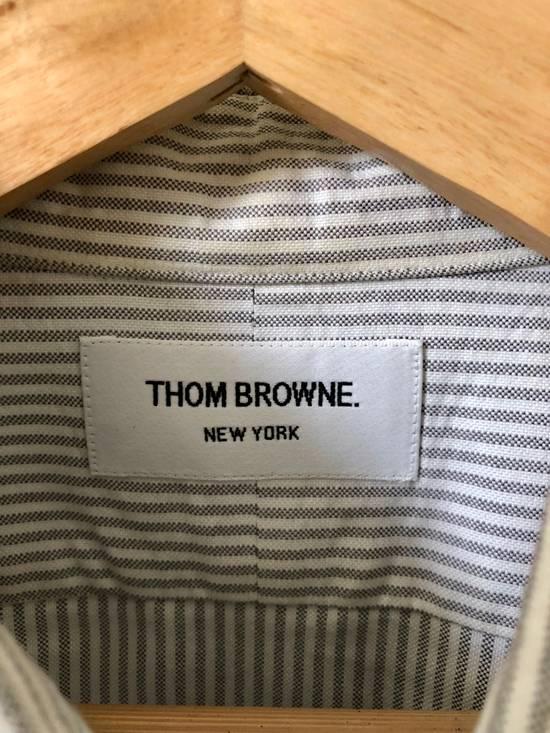 Thom Browne *Final Drop* Button Down Striped Dress Shirt Size US XXL / EU 58 / 5 - 3