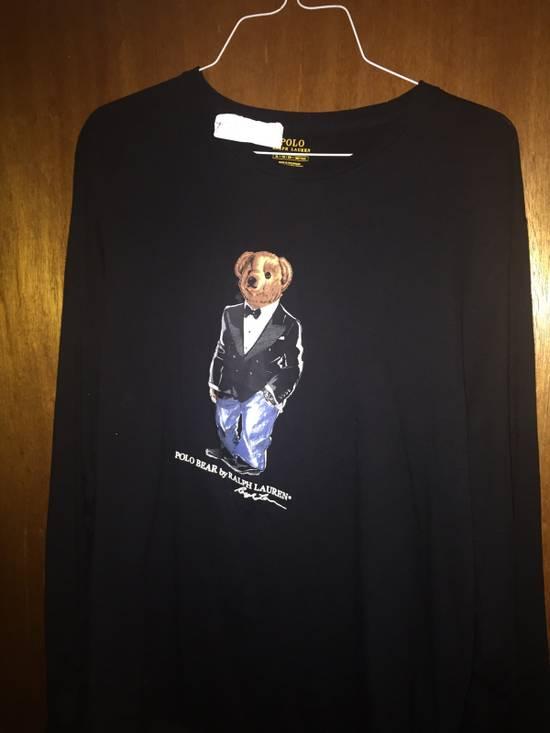 Polo Ralph Lauren Ralph Lauren Polo Bear Black Tuxedo Bear Long Sleeve T-Shirt Size US XL / EU 56 / 4