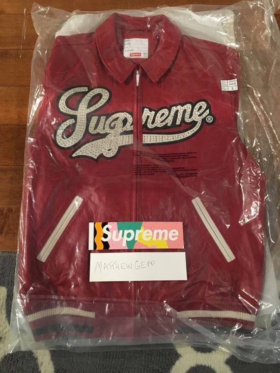 Supreme Uptown Studded Leather Jacket Size US L / EU 52-54 / 3 - 1