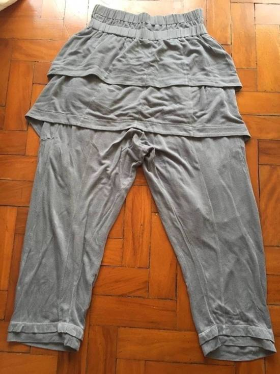 Julius Japan made silk and cotton layered skirted sweatpants Size US 28 / EU 44 - 2