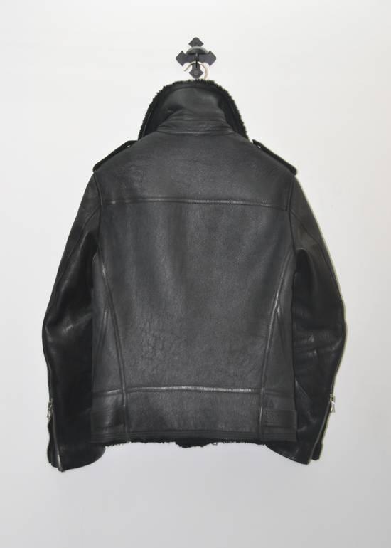 Balmain Balmain shearling leather biker jacket Size US L / EU 52-54 / 3 - 4