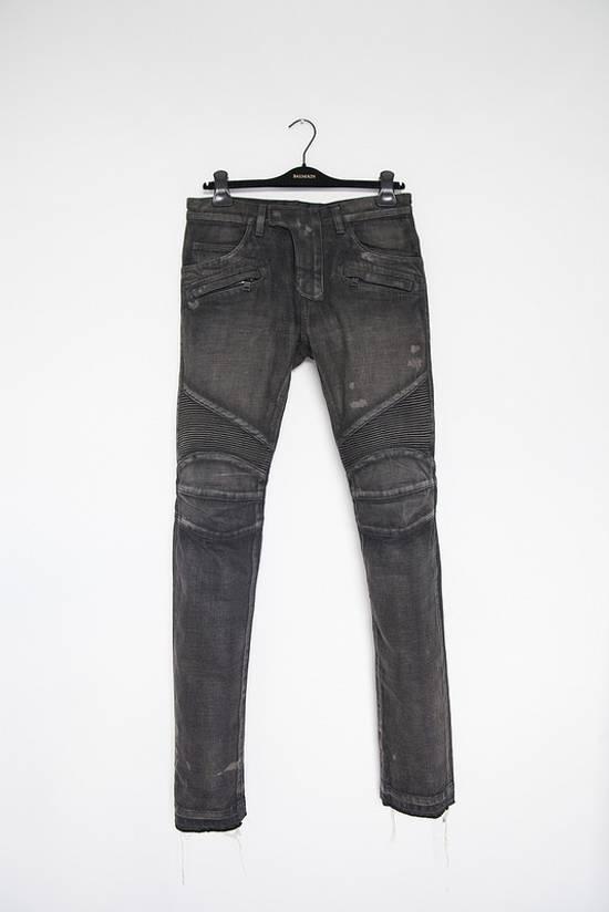 Balmain Selvedge biker denim jeans Size US 29