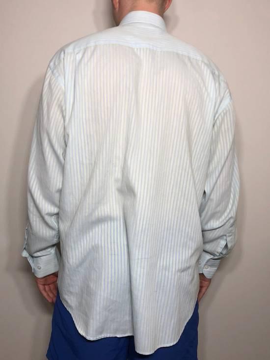 Balmain Baby Blue Striped Button down Size US L / EU 52-54 / 3 - 3