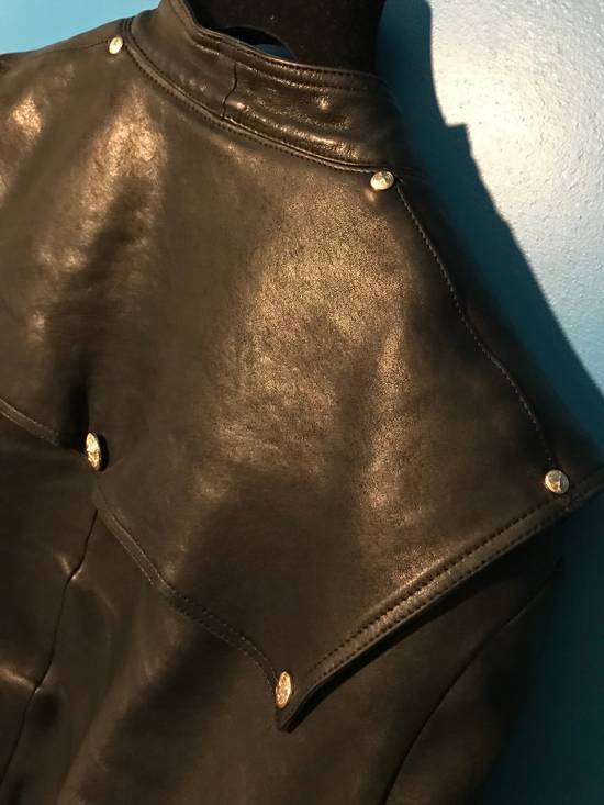 Balmain Lambskin Gold Button Detail Jacket Size US L / EU 52-54 / 3 - 12