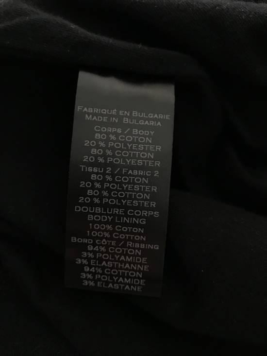 Balmain Size Small - Checked Button Shoulder Sweatshirt- FW16 - $1050 Retail Size US S / EU 44-46 / 1 - 6