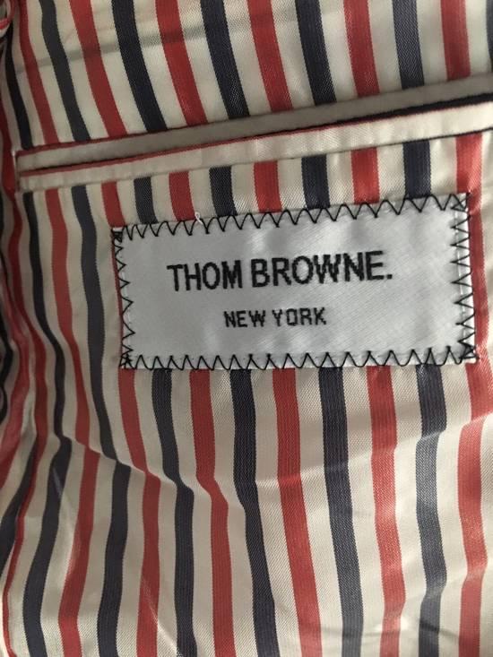 Thom Browne SS13 SAMPLE Seersucker Blazer Wolf Gang Size 36R - 4