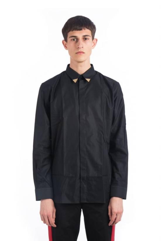 Givenchy Metallic Tipped Collar Shirt (Size - 42) Size US L / EU 52-54 / 3