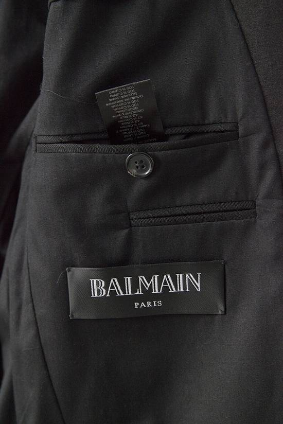 Balmain 2015 black tuxedo jacket Size 38R - 5