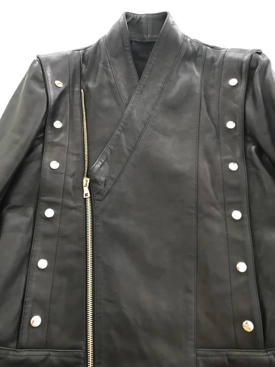 Balmain Balmain Black Leather Jacket Size US M / EU 48-50 / 2 - 6