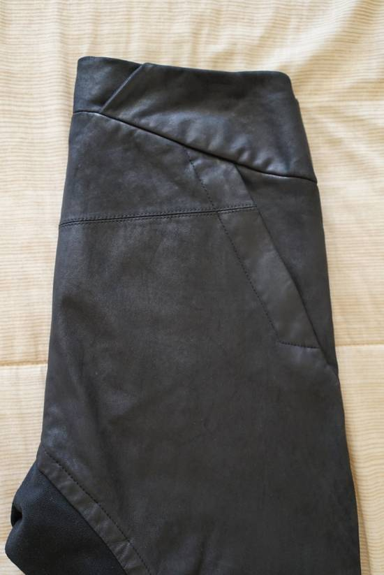 Julius Leather Paneled Biker Pants Size US 30 / EU 46 - 4