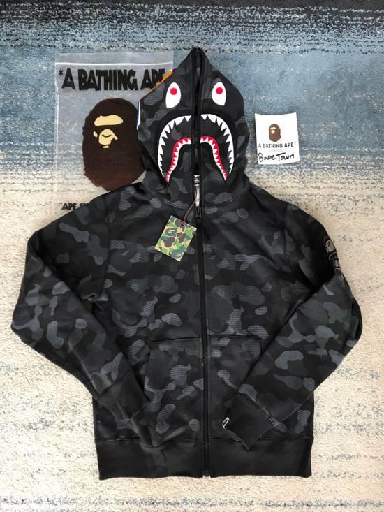 48edf23e0709 Bape Dot Camo Black Shark Hoodie Size xl - Sweatshirts   Hoodies for ...