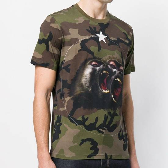 Givenchy New Season Givenchy Monkey Brothers T-shirt In Camo 100% Authentic Size US L / EU 52-54 / 3 - 1