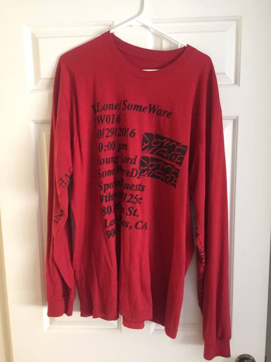 Vlone Red Long Sleeve (Limited Edition) Size US XL / EU 56 / 4 - 3
