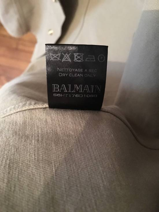 Balmain Balmain Insignia band collar shirt Size US L / EU 52-54 / 3 - 2