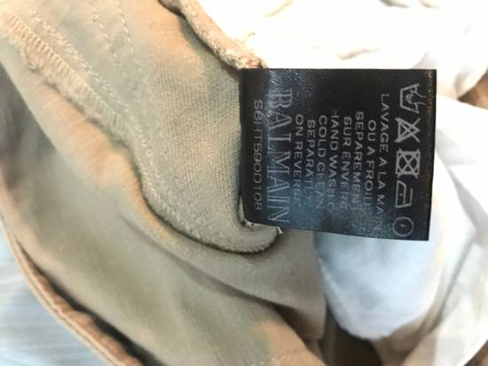 Balmain Tan Carpenter Jeans ( Priced To Sell) Size US 34 / EU 50 - 3